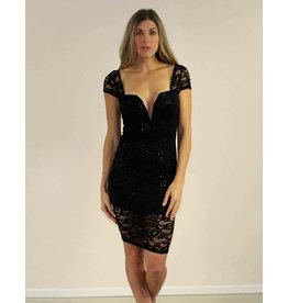 Privy Kimora Dress Black