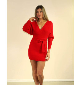selfie leslie Kinsley Sweater Dress