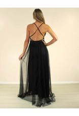 LUXXEL Leilani Dress Black