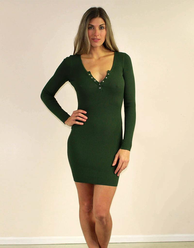 Hera Collection McKenna Dress Green