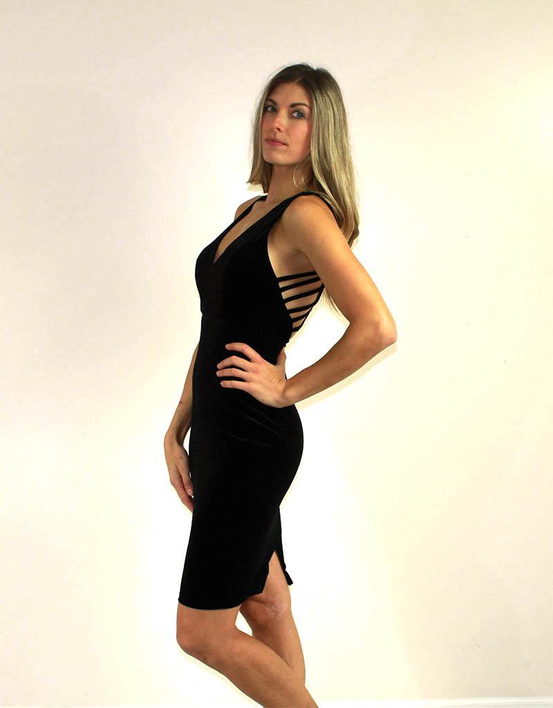 Privy Miah Dress Black