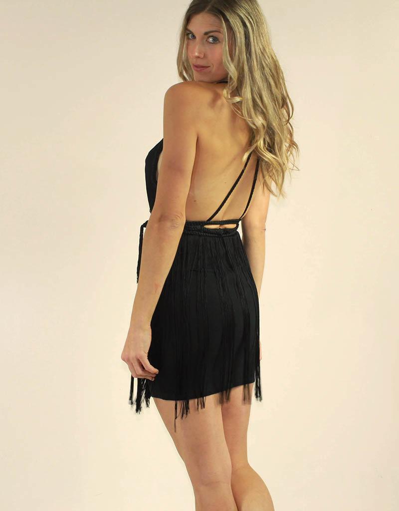 LUXXEL Melany Dress Black