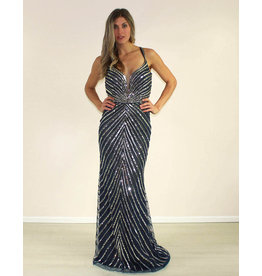 Aspeed Rebeka Dress Navy