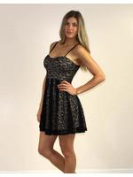 Privy Serafina Dress Black