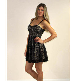 Privy Serafina Dress Black