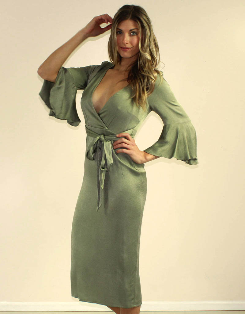 Selfie Leslie Zoie Dress Olive