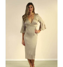 Selfie Leslie Zoie Dress Mocha