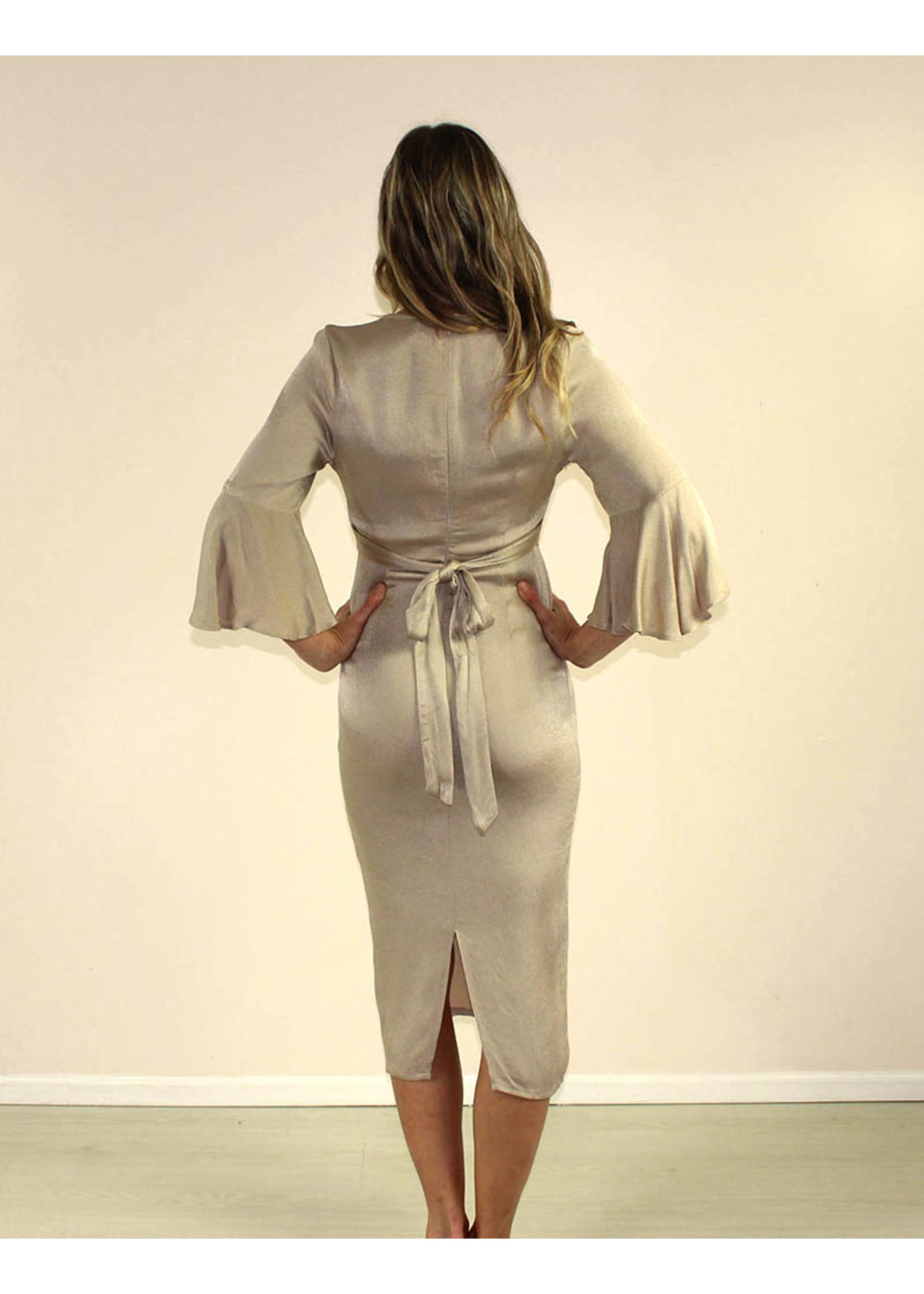 Selfie Leslie Zoie Dress Mocha