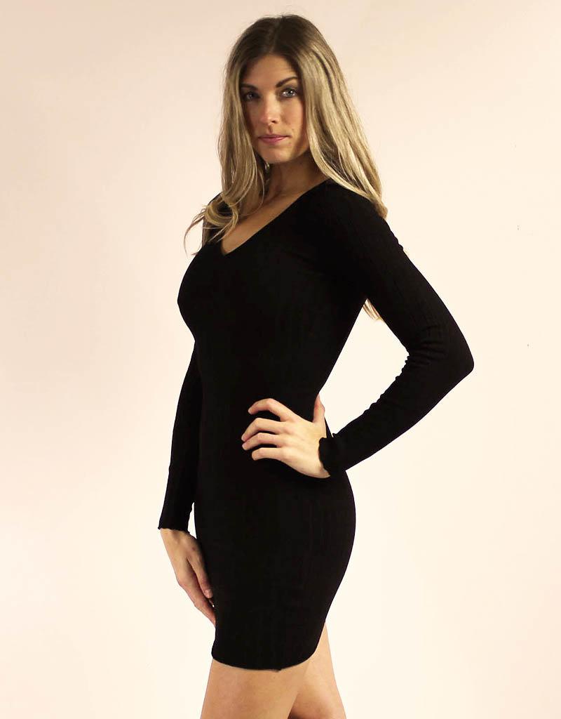 Hera Collection Parker Dress Black