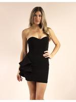 LUXXEL Monserrat Dress Black