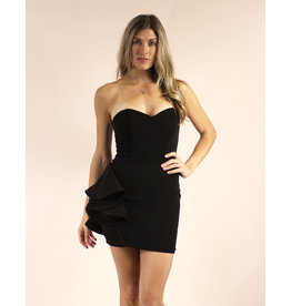 LUXXEL Monserrat Dress Black