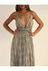 LUXXEL Kaia Dress Nude