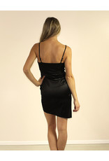 LUXXEL Jaslyn Dress Black