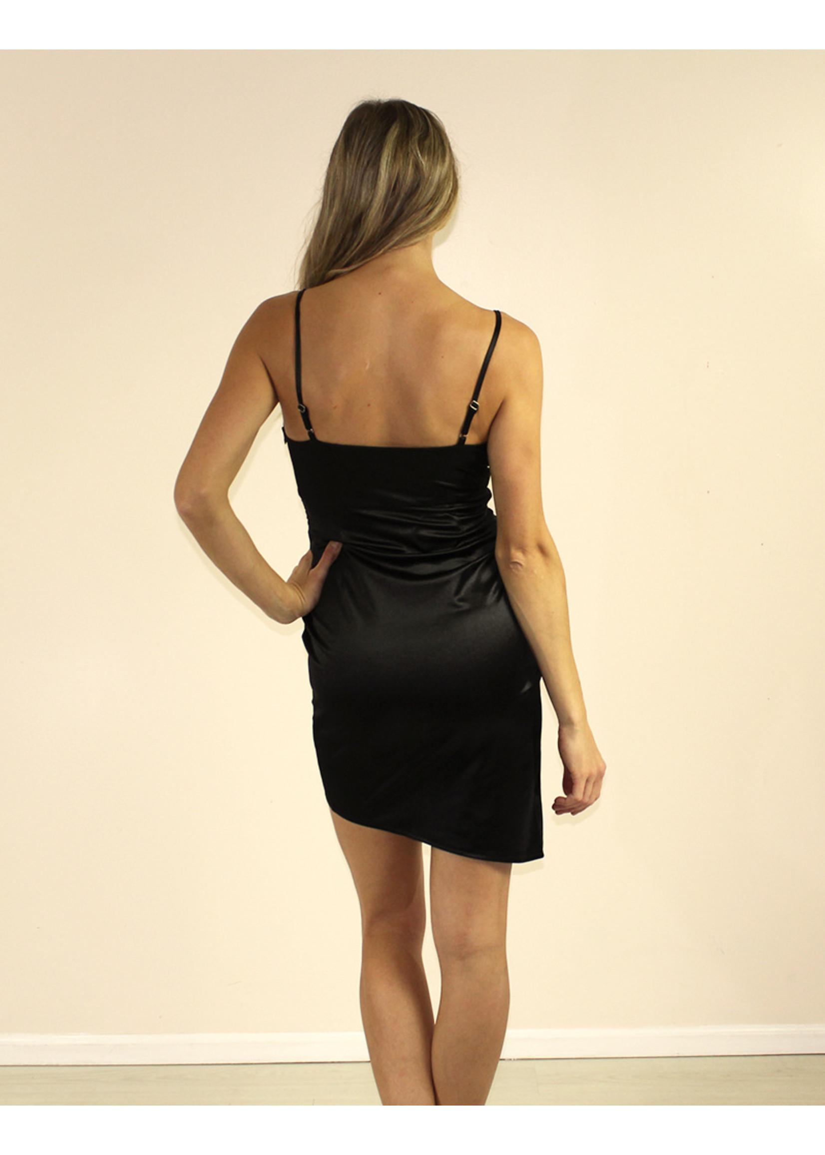 LUXXEL Jaslyn Dress Black