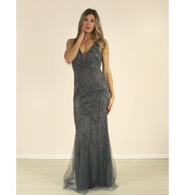 Aspeed Giovanna Dress Charcoal