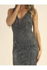 Aspeed Giovanna Dress Charcoal