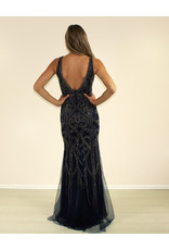 Aspeed Giovanna Dress Navy