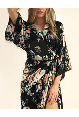 Aakaa Desirae Dress Black