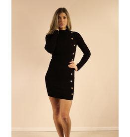 Hera Collection Audrina Dress Black