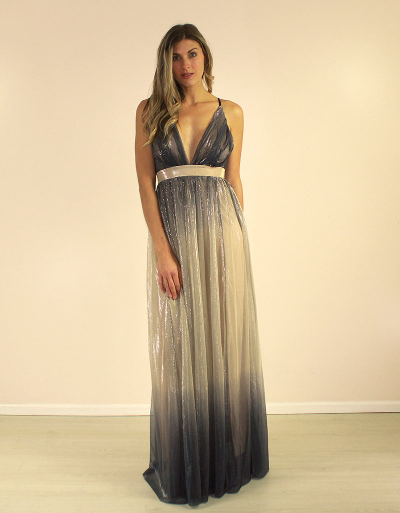 LUXXEL Arabella Dress Blue