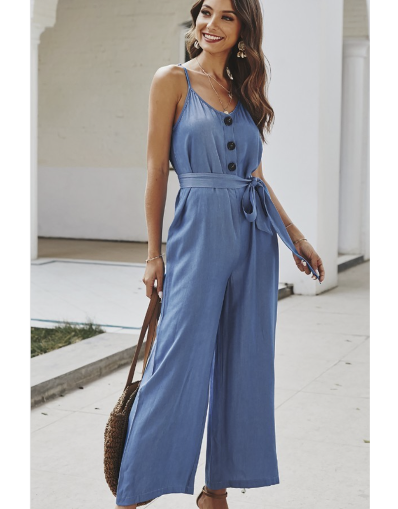 Esley Brandii Jumpsuit Blue