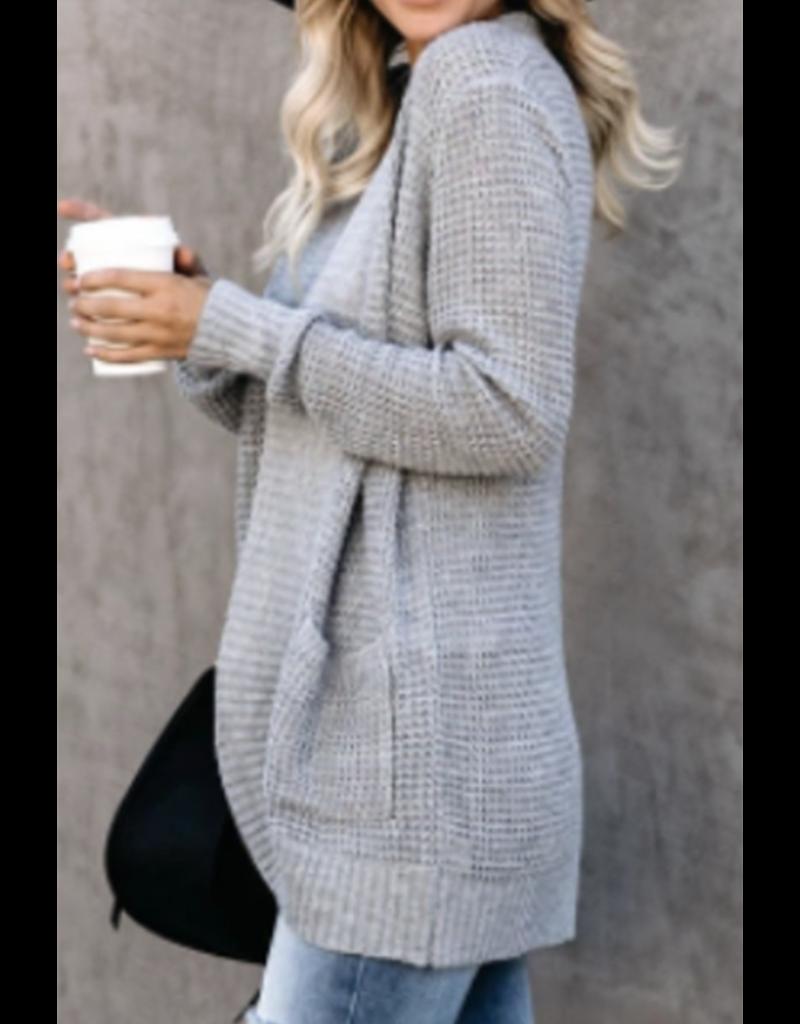 Esley Laurelin Cardigan Grey