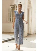 Mountain Valley Trading Darcie Jumpsuit Blue