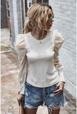 Mountain Valley Trading Eilish Top Beige