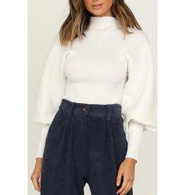 Esley Ka'mya Sweater White