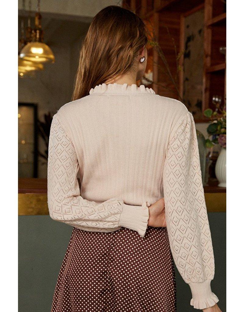 Esley Jahnelle Sweater Light Pink