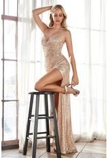 Cinderella Design Nevada Dress Gold