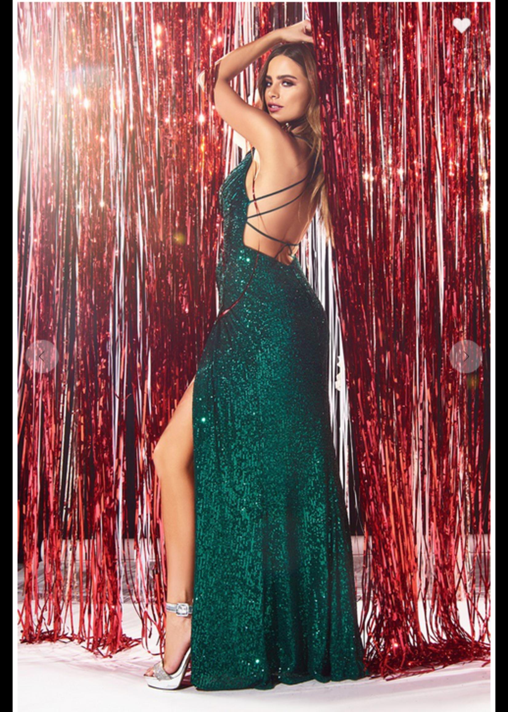 Cinderella Design Genesa Dress Green