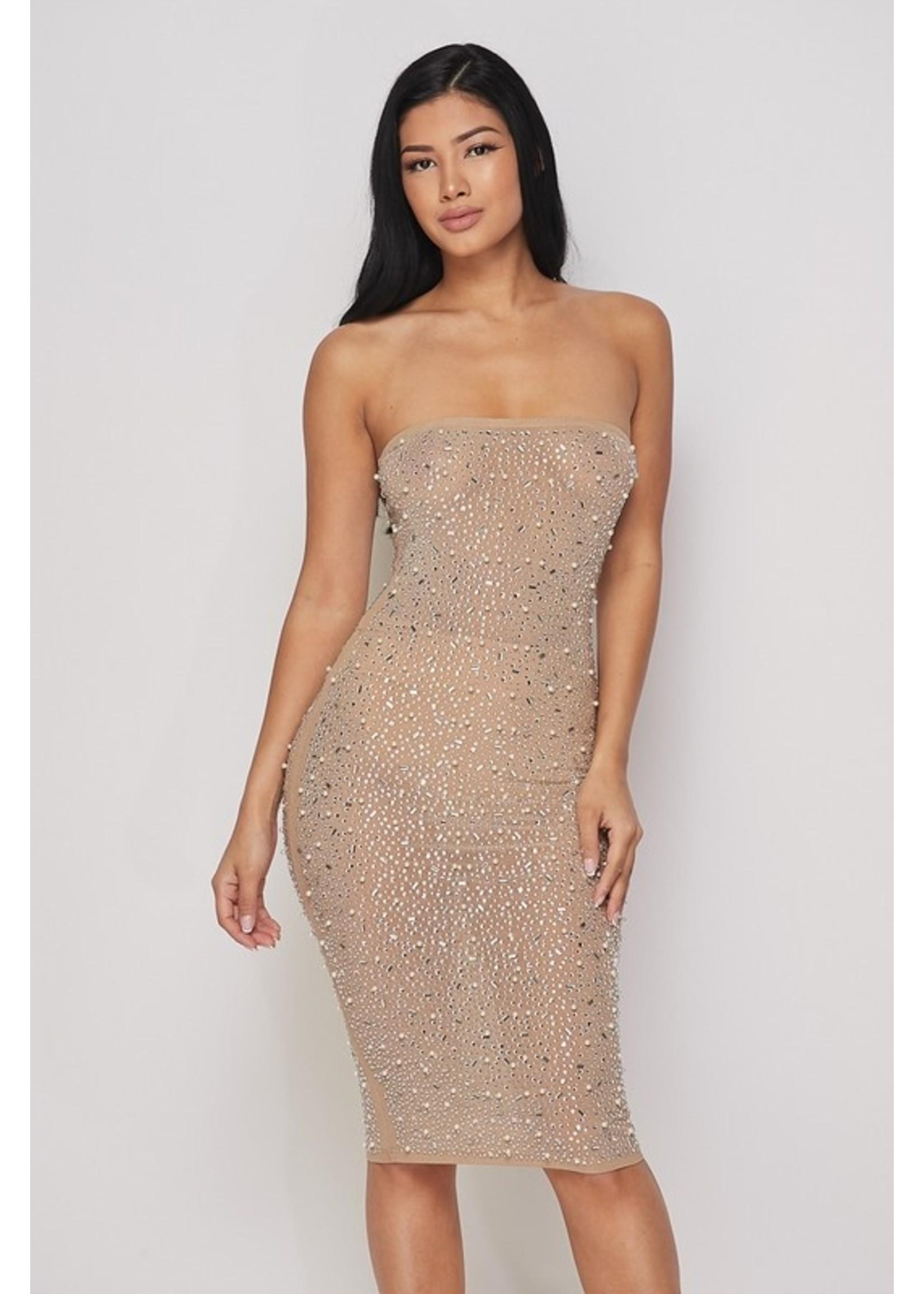 Banjul Harmoni Dress Nude