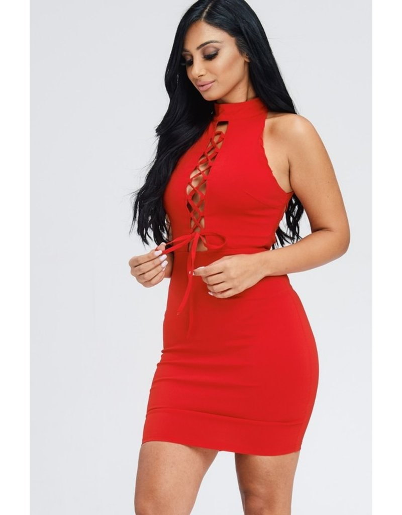 Oh Yes Scarlette Dress Red