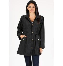 Rosio Polaris Waterproof Jacket Black