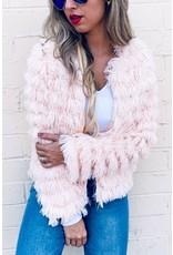 Blue Blush Sabrina Jacket Blush