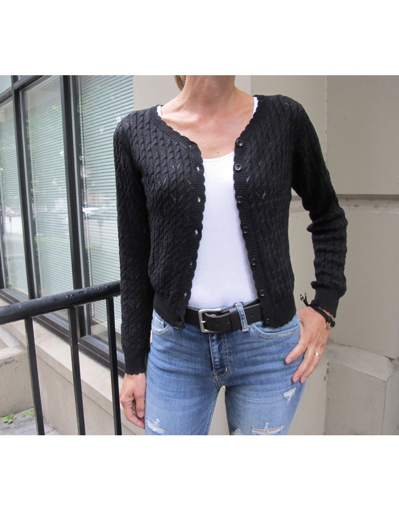 MAK Manya Sweater Black