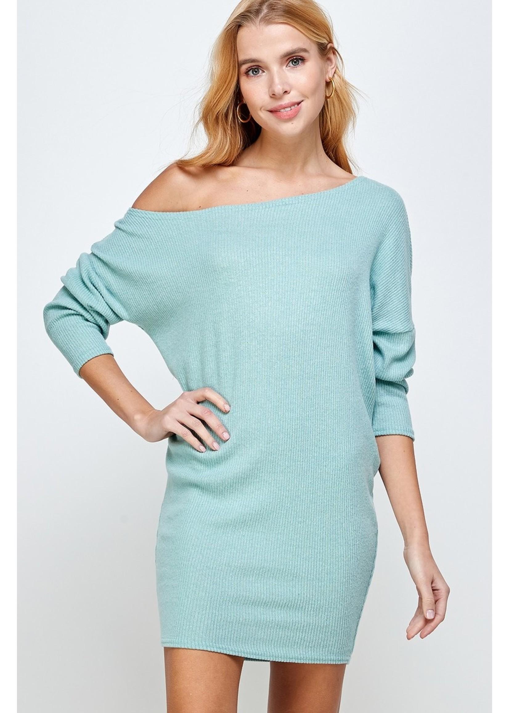 Sung Light Clothing Caileigh Dress Mint