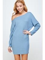 Sung Light Clothing Caileigh Dress Blue