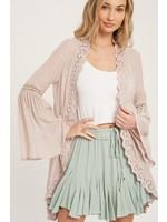 Sung Light Clothing Davina Wrap Blush
