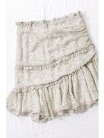 trend : notes Devinne Floral Skirt Ivory