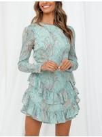 Selfie Leslie Hadleigh Dress Mint