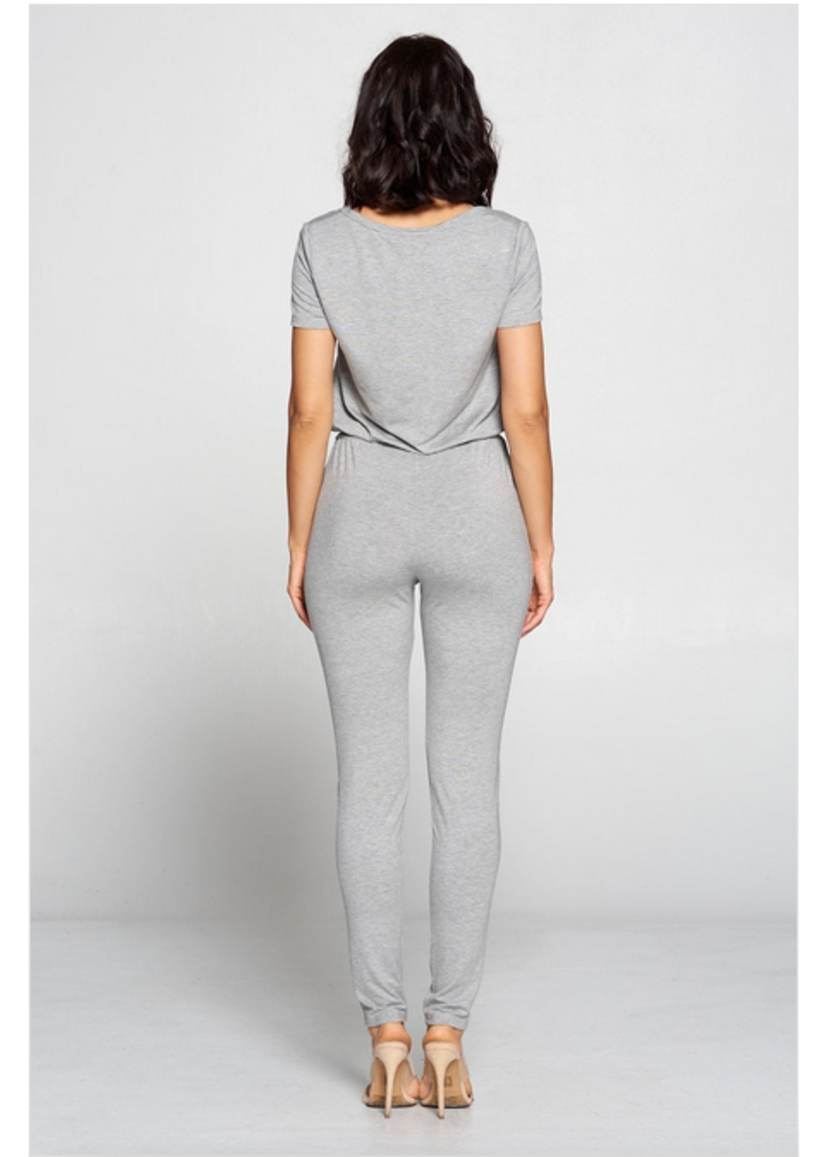 Win Win Jaida Jumpsuit Grey