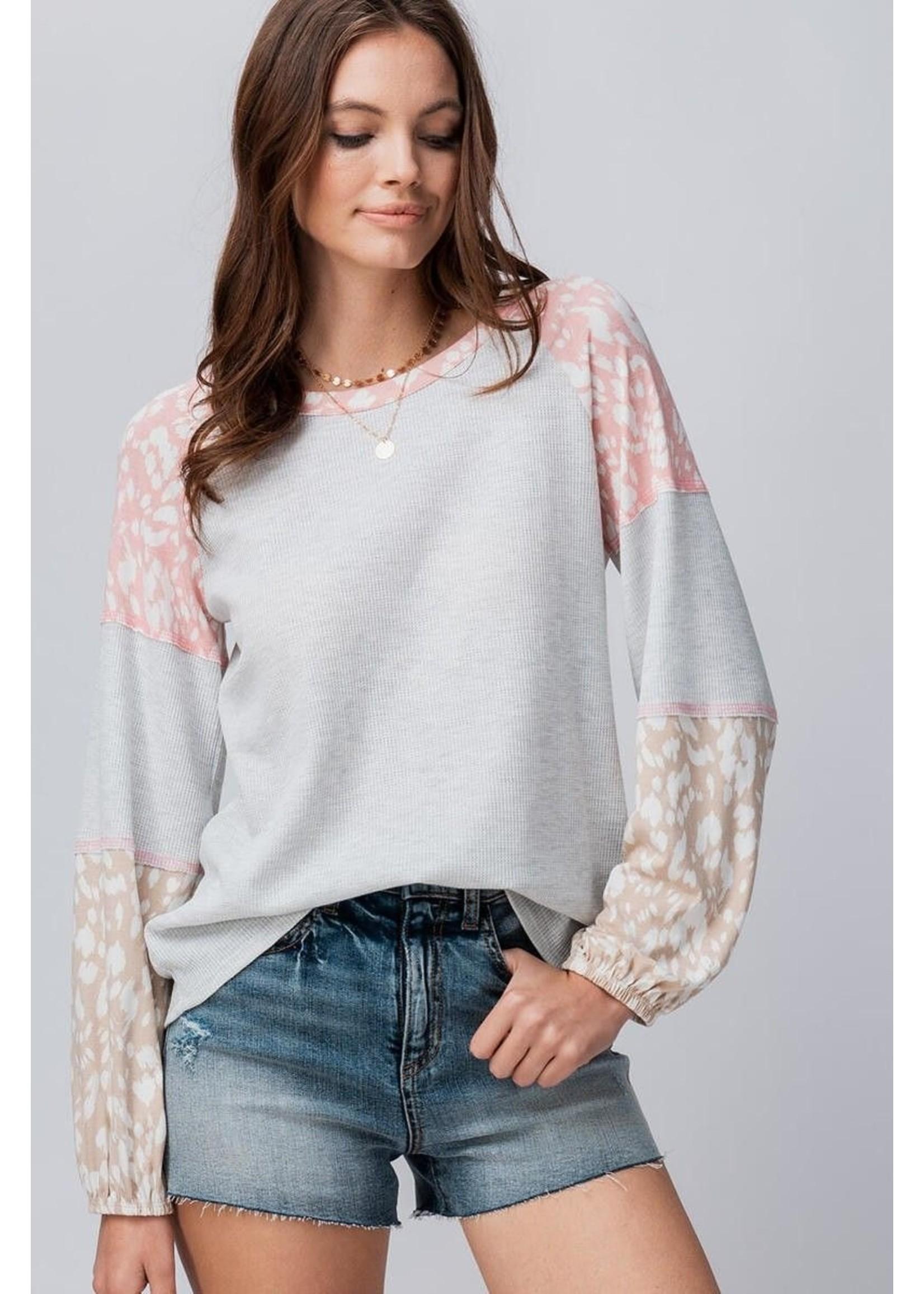 trend : notes Lyric Sweater Grey