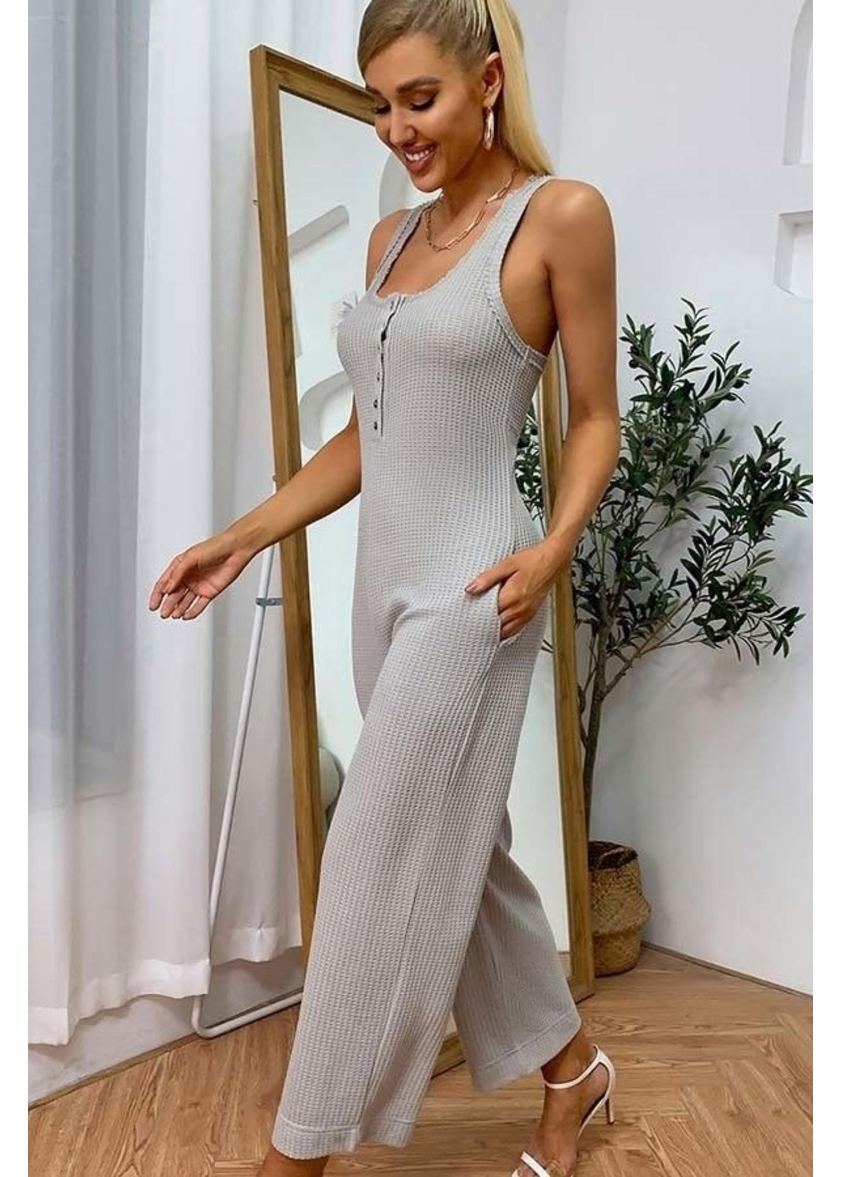 Esley Braxton Jumpsuit Grey