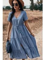 Esley Dylan Dress Blue