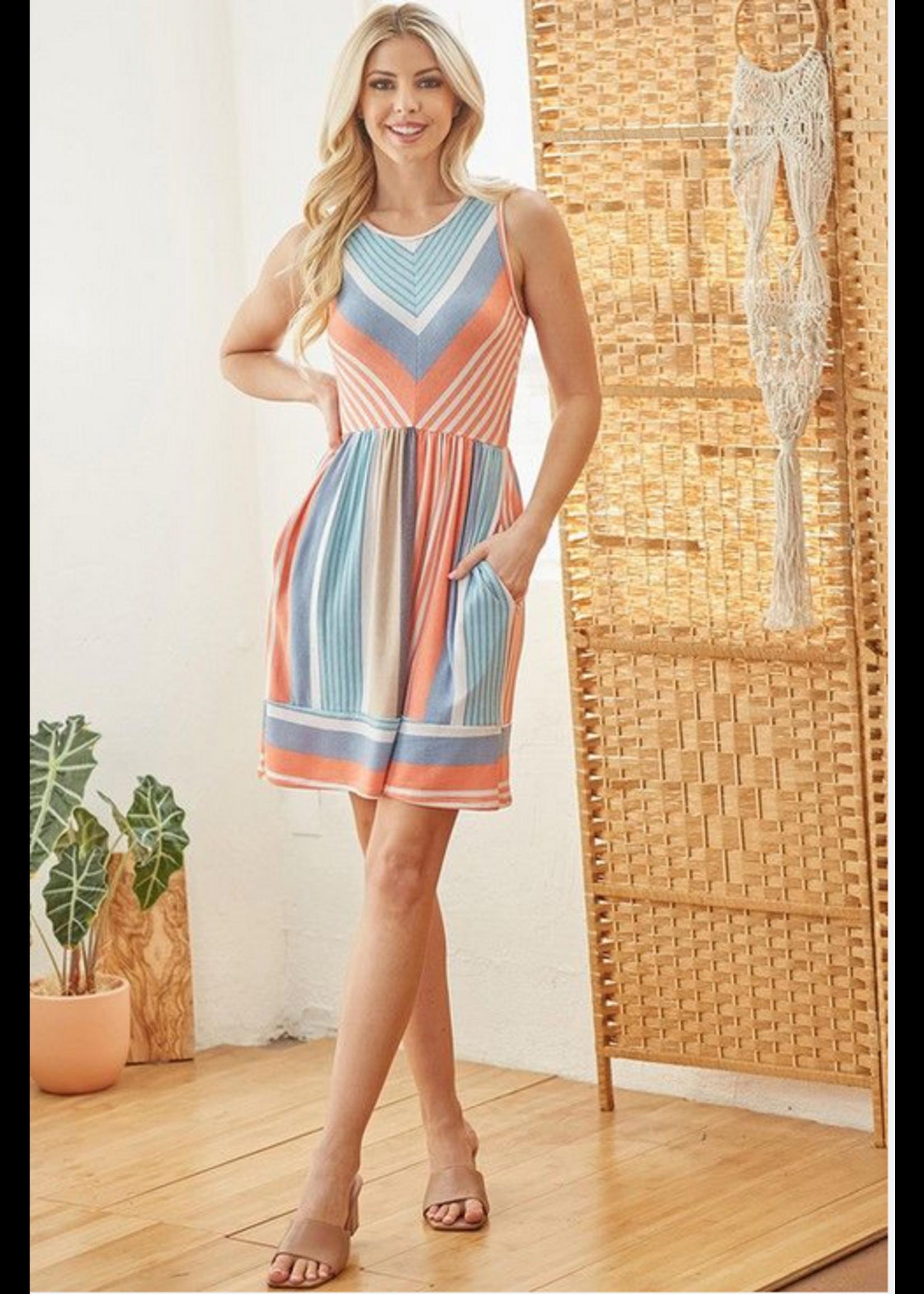 Apple B Haylie Dress Multi