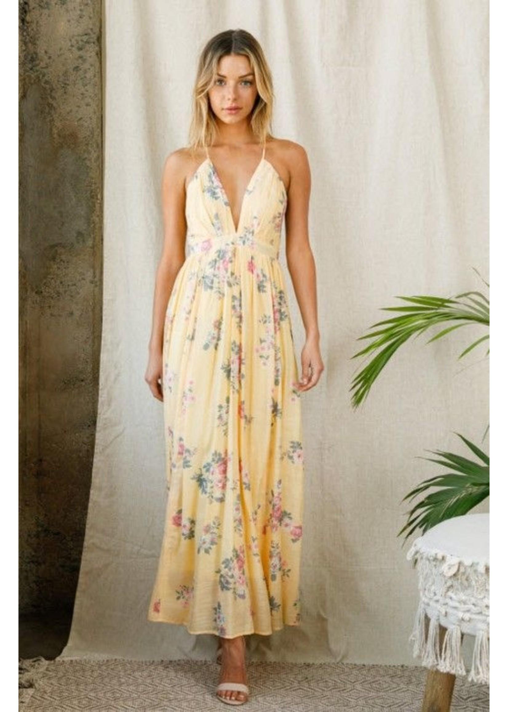 A Beauty by BNB Meilani Dress Yellow