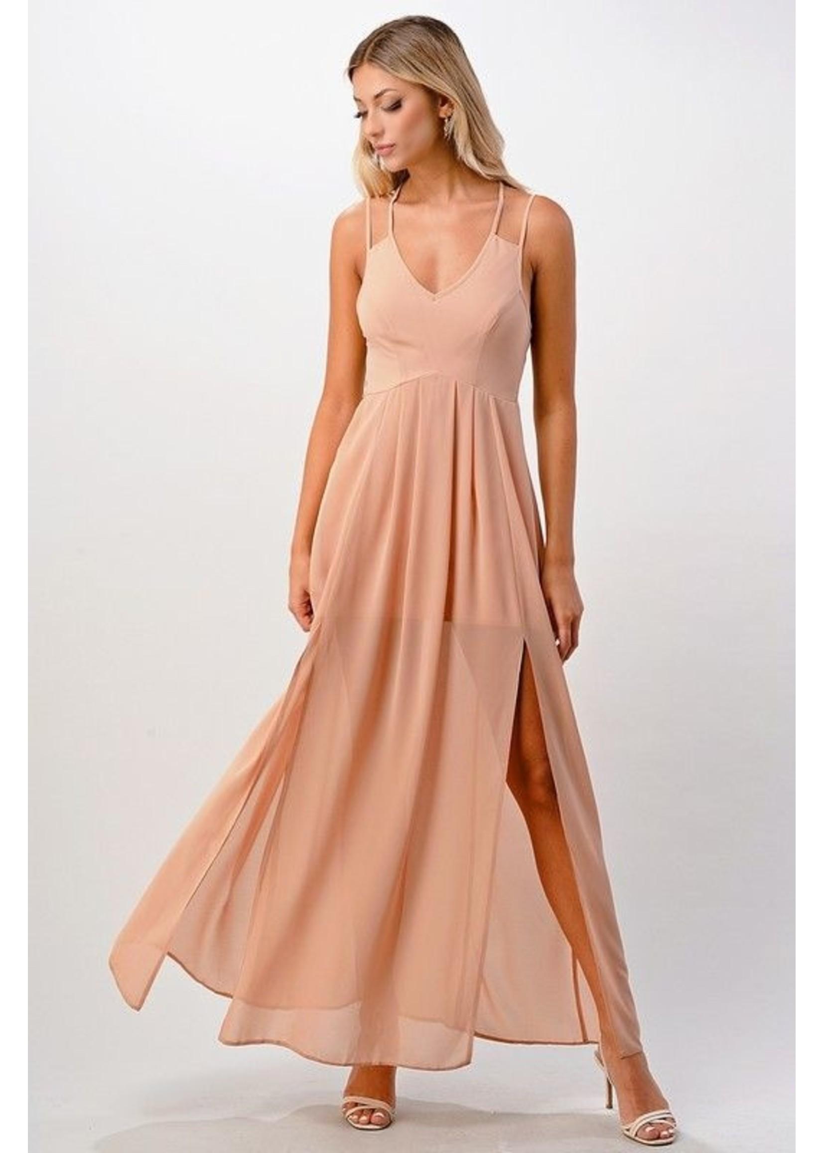 Miley + Molly Nokomis Dress Blush