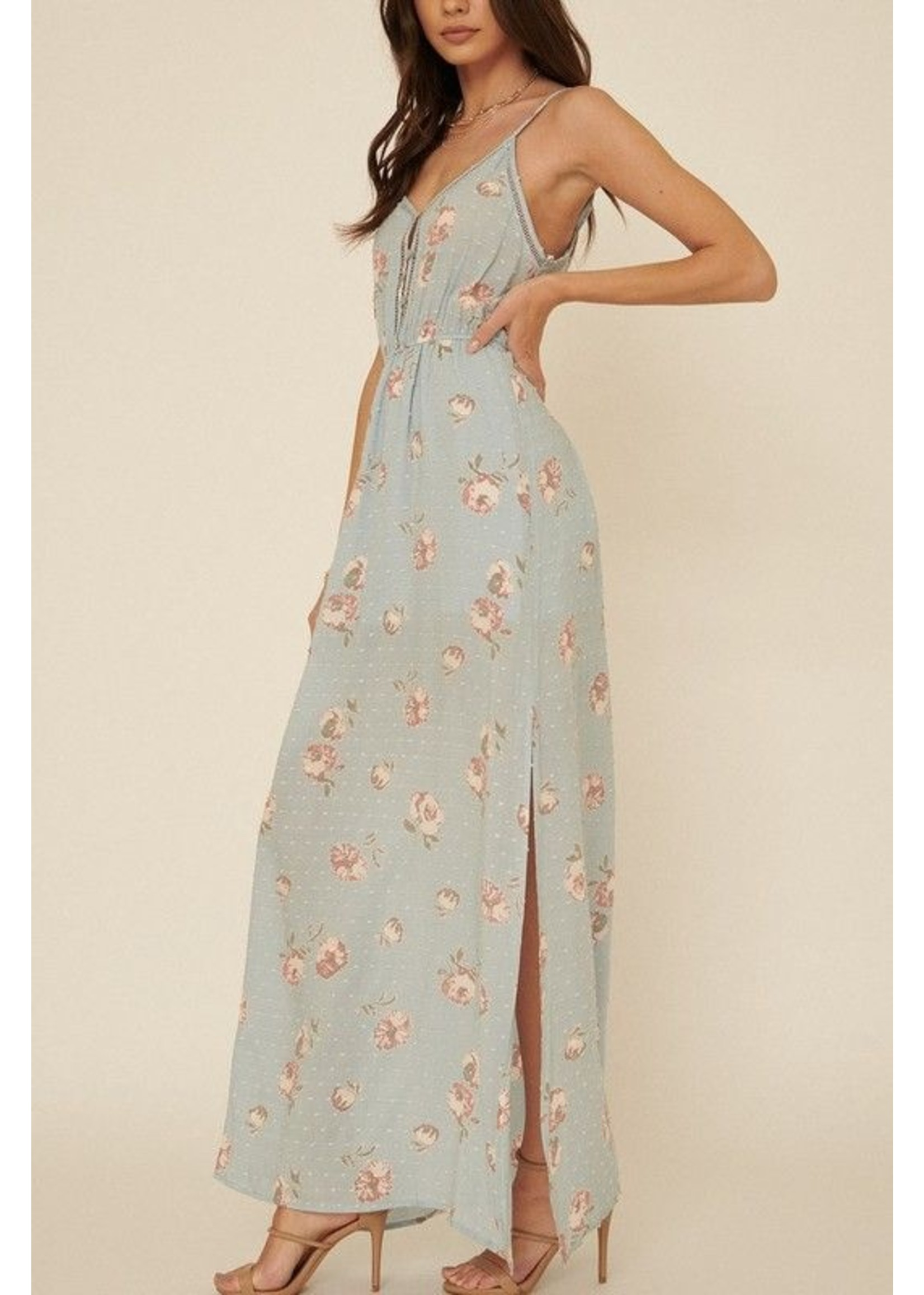 Promesa USA Otilia Dress Blue